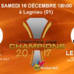 Handibasket – Le premier trophée des Champions se disputera ce week-end