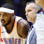 NBA – Carmelo Anthony et Billy Donovan en colère contre l'arbitrage