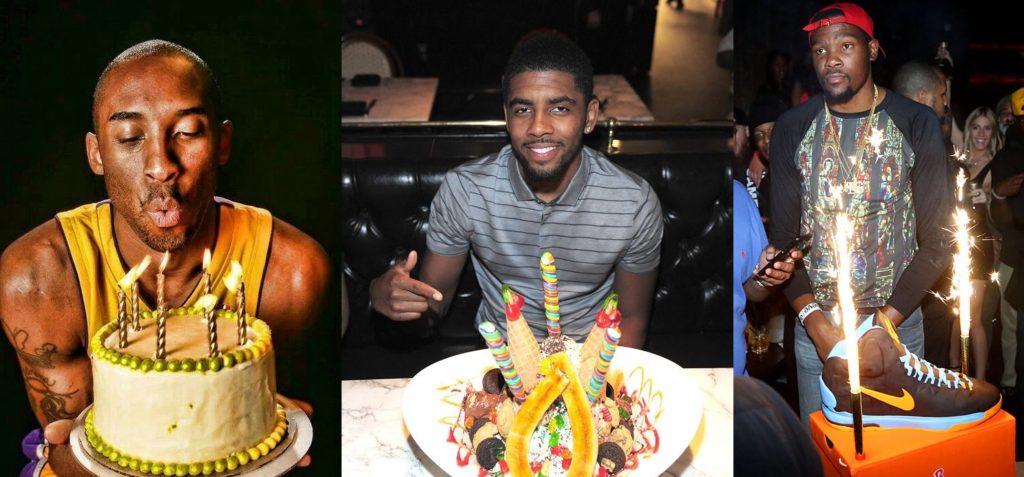 Les dates d'anniversaires des joueurs NBA
