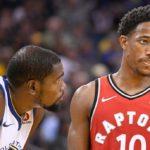 NBA – Top 5 de la nuit : DeMar DeRozan cisaille la défense des Warriors !