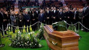 Hommage : Beaublanc a dit au revoir à son président