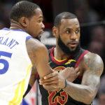 NBA – Top 10 de la nuit : LeBron James et Kevin Durant, le duel des titans !