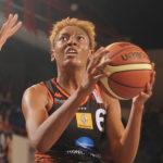CDF Basket (F) – Vidéo : Le gros contre de Diandra Tchatchouang