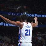 NBA – Joueurs de la semaine : Joel Embiid récompensé alors que James Harden conserve son titre