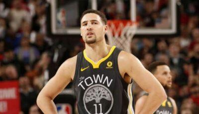 NBA – Recadré par un coéquipier star, la réaction sauvage de Klay rookie !