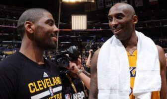 Kyrie Irving et Kobe Bryant
