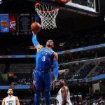 NBA – Top 10 de la nuit : Westbrook s'en tape de la Saint-Valentin, il préfère tomar