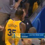NBA – Vidéo : Nouveau coup de sang, Kevin Durant se rapproche du triste record de Rasheed Wallace !