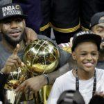 NBA – Les highlights exceptionnels de LeBron James Jr !