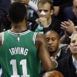NBA – Danny Ainge n'est pas inquiet par la blessure de Kyrie Irving