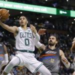 NBA – Jayson Tatum gère du mieux qu'il peut le «rookie wall»