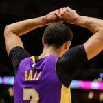 NBA – Nouveau pépin au genou pour Lonzo Ball