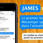 Inédit – L'actu basket sur Messenger avec James de Parlons Basket !