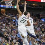 NBA – Les Français de la nuit : Rudy Gobert contrôle les Grizzlies, le Jazz s'accroche toujours aux Playoffs !