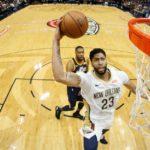 NBA – Top 10 de la nuit : Anthony Davis tutoie les étoiles