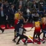 NBA – Faute flagrante, expulsions, menaces… : grosses tensions entre Utah et Minnesota