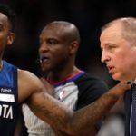NBA – Jeff Teague contre le coaching de Thibodeau après la défaite face aux Grizzlies ?