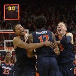 NCAA – Fin de match historique : Virginia inscrit 5 points en moins d'une seconde !