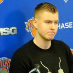 NBA – Kristaps Porzingis ne se préoccupe pas du futur des Knicks pour le moment