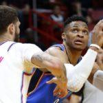 NBA – Russell Westbrook aura besoin de 16 rebonds pour terminer la saison en triple-double de moyenne