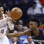 NBA – Russell Westbrook termine la saison en triple-double de moyenne pour la seconde fois consécutive