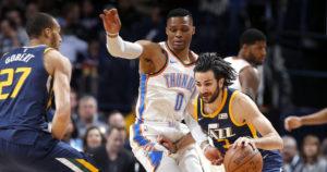 NBA – Russell Westbrook sur Ricky Rubio : «Je vais l'éteindre au prochain match. Je vous le garantis.»