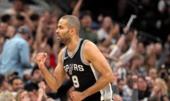 Tony Parker sous le maillot des Spurs