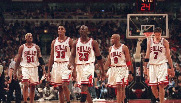 Bulls record saison 1995-1996