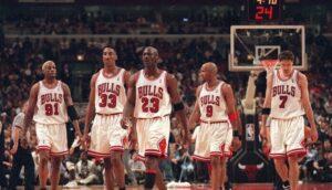 NBA – Jeu : Créez votre meilleur 5 pour stopper les Bulls 1990's