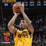 NBA – Donovan Mitchell s'empare du record de tirs à 3pts pour un rookie