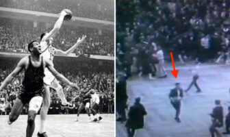 John Havlicek Stole the ball 1965