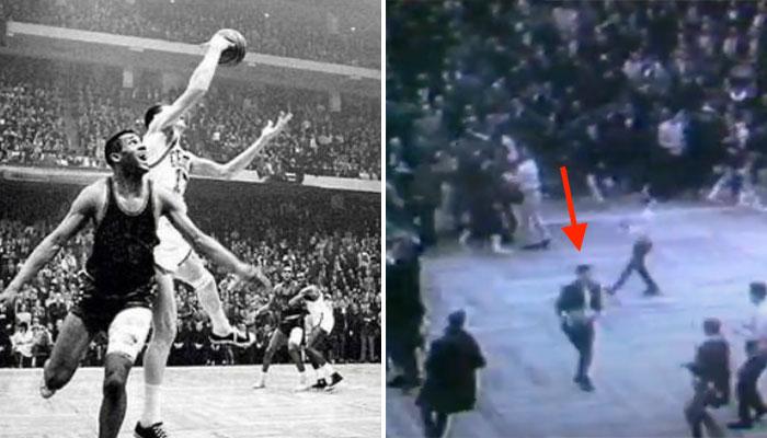 John Havlicek Stole the ball 1965