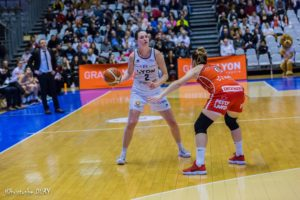 LFB – Transferts : Haley Peters reste en France et rejoint les Flammes