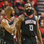 NBA – Échange tendu sur le banc entre James Harden et Chris Paul