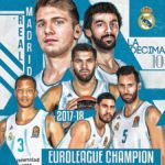 Euroleague – Finale : Le Real Madrid champion grâce à son duo Doncic-Causeur !