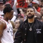 NBA – Drake averti par la ligue !