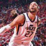 NBA – Les Français de la nuit : Les Rockets se baladent à Salt Lake City, Rudy Gobert n'a pas suffi !