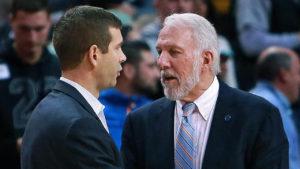NBA – Celtics : Aron Baynes compare Brad Stevens à Gregg Popovich