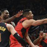 NBA – C.J. McCollum démonte la défense des Cavaliers !