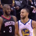 NBA – Chris Paul claque un 3 points sur Steph Curry… Et lui sort le shimmy !