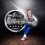 Liga Endesa – Thomas Heurtel dans le deuxième meilleur cinq de la saison !