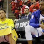 NBA – Warriors : Andre Iguodala et Klay Thompson incertains pour le match 5