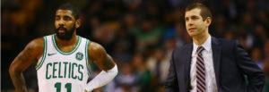 NBA – Brad Stevens évoque la tristesse de Kyrie Irving de ne pas participer aux playoffs