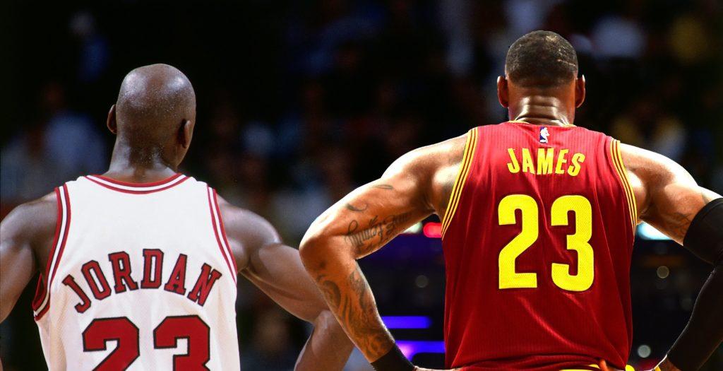 Michael Jordan et LeBron James sont souvent inclus dans le fameux débat du GOAT
