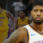 NBA – Les Lakers favoris pour attirer Paul George d'après ESPN