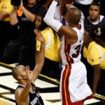 NBA – Le très célèbre footballeur qui était à un mètre du mythique shoot de Ray Allen en 2013