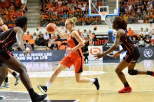 LFB – PlayOffs – Finale (Match 1) : Bourges vire en tête