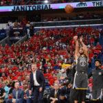 NBA – Stephen Curry intègre le Top 3 des meilleurs tireurs à 3pts en Playoffs