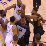 NBA – Tristan Thompson expulsé à quelques secondes de la fin du match !