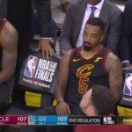 NBA – Les réactions de la ligue suite à l'énorme raté de J.R. Smith